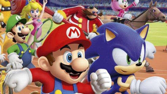 Mario Sonic Aux Jeux Olympiques De Londres 2012 London