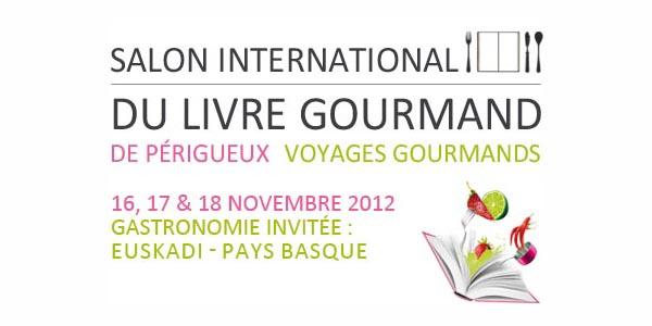 Maxoe en direct du salon international du livre gourmand - Salon du livre gourmand ...
