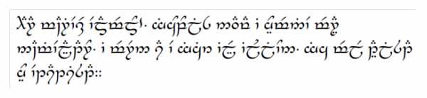 Geekopolis, apprenez les langues elfiques de Tolkien
