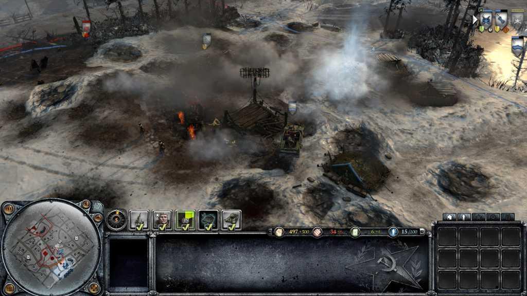 Là, j'avais ramassé à cause des blindés lance flamme et des bombardements