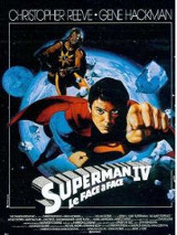 Superman IV affiche