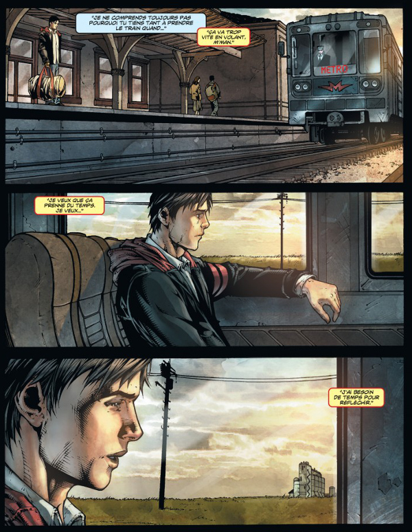 SupermanTerre1-planches