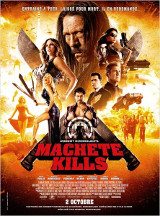Machete Kills Affiche