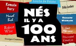 Nés il y a 100 ans