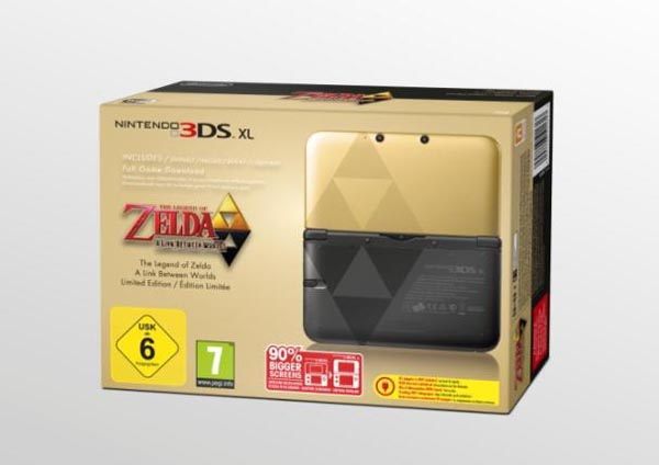 3DS XL Zelda