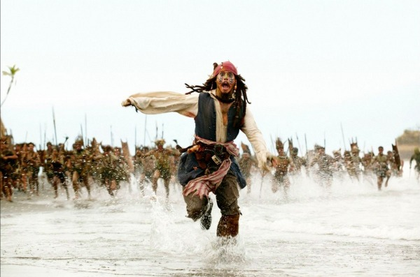 Pirates des Caraibes 2 Sparow