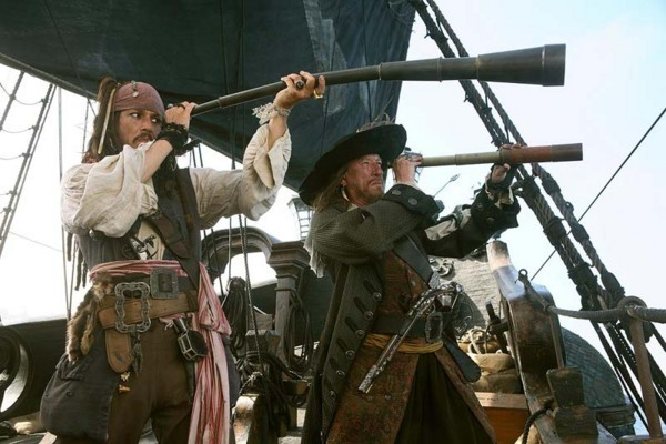 Pirates des Caraibes 3 Sparow Barbossa