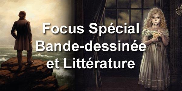 Focus Spécial BD et Littérature