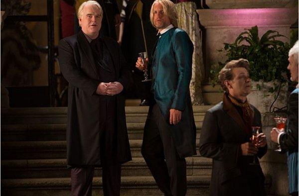 Hunger Games 2 Hoffman Harrelson
