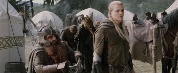Le Retour du Roi Gimli La tapette blonde