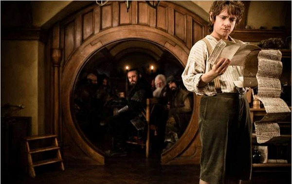 The Hobbit DVD Bilbon
