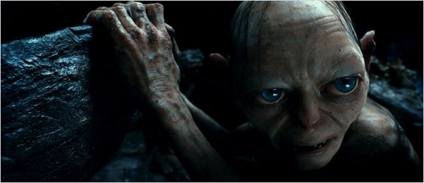 The Hobbit DVD Gollum