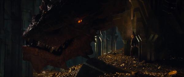 The Hobbit Smaug Bilbon
