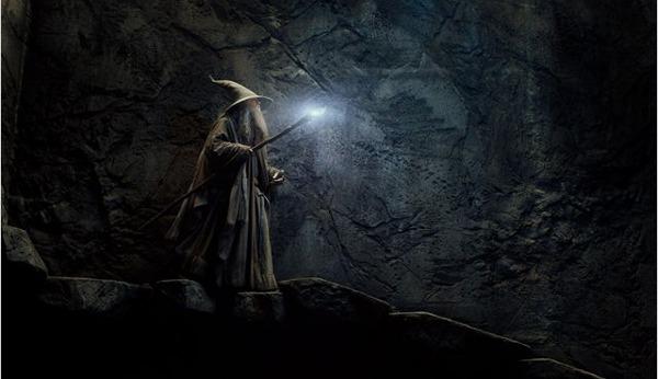 The Hobbit Smaug Gandalf