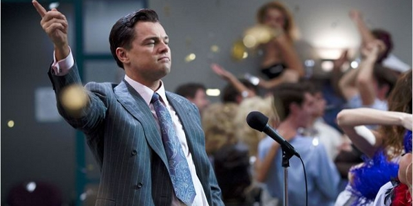 The Wolf of Wall Street Une