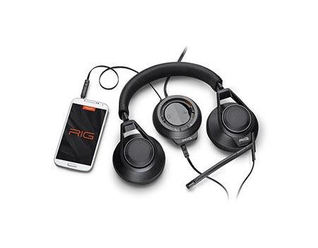 Le casque RIG de Plantronics compatible avec la Playstation 4