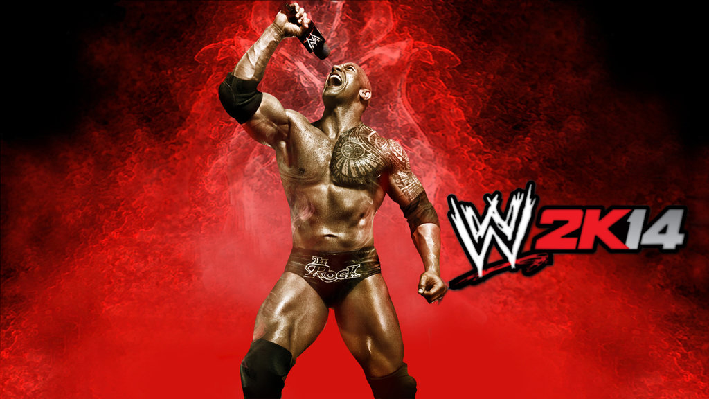 wwe_2k14_the_rock_wallpaper_by_jithinjohny-d6gvfup