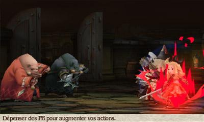 L'écran de combat