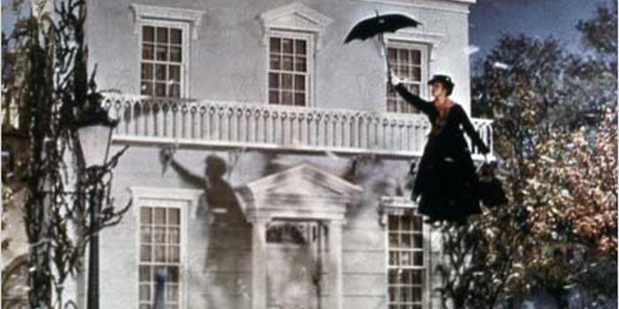 Mary Poppins 1964 real : Robert Stevenson julie andrews COLLECTION CHRISTOPHEL