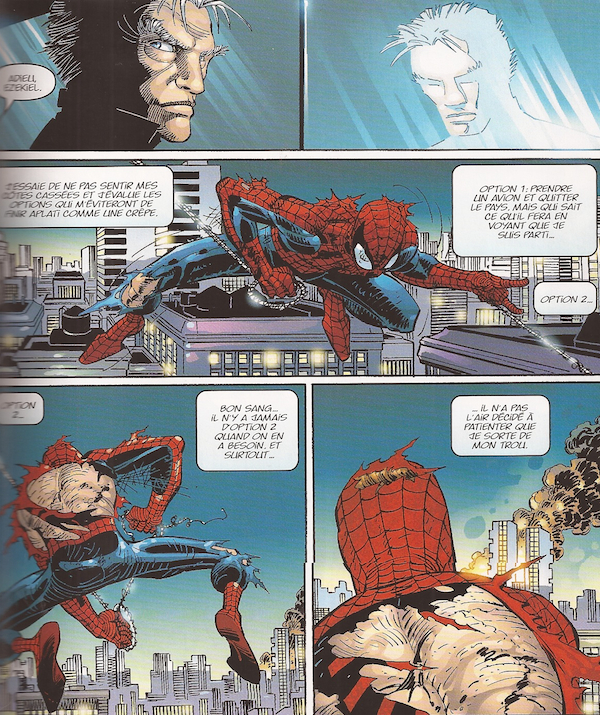 SpidermanVocation-planches