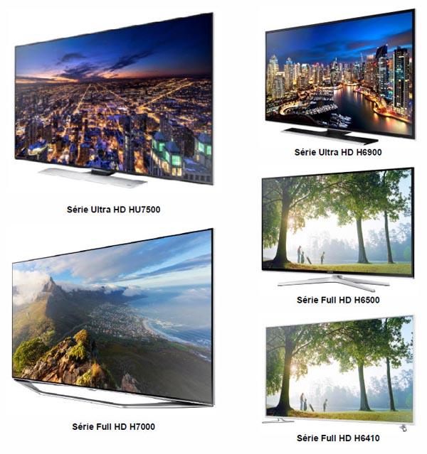 Samsung complète sa gamme de TV Ultra HD et Full HD 2014