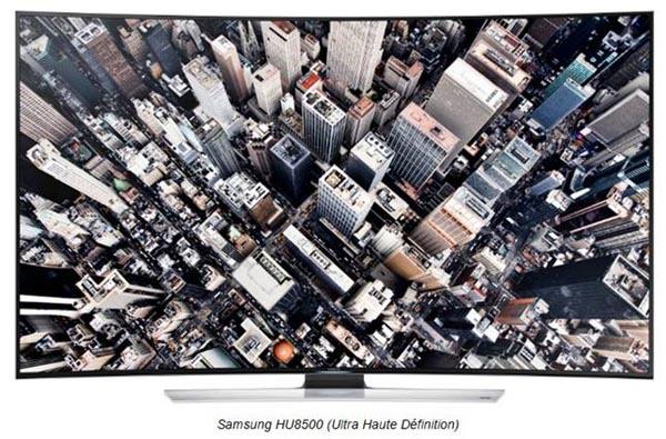 Samsung lance la première TV Ultra HD incurvée au monde