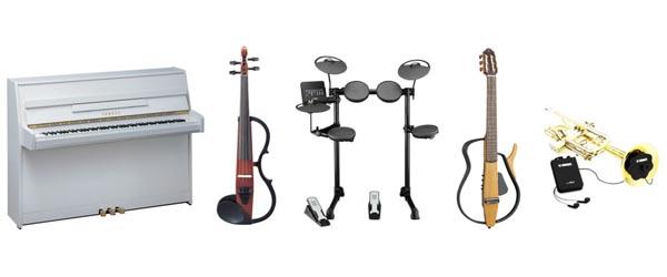 La gamme Silent de Yamaha, sélection d'instruments silencieux