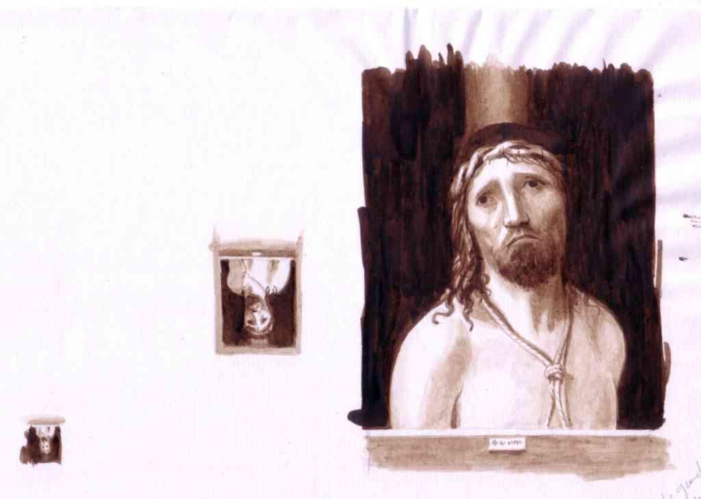 copies d'un tableau d'Antonello par Jean Dytar