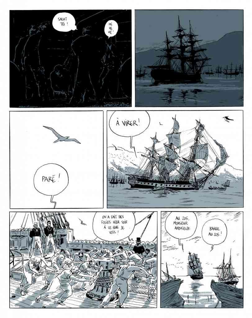 Eloi de Locard et Grouazel (Actes Sud L'an 2) planche 165