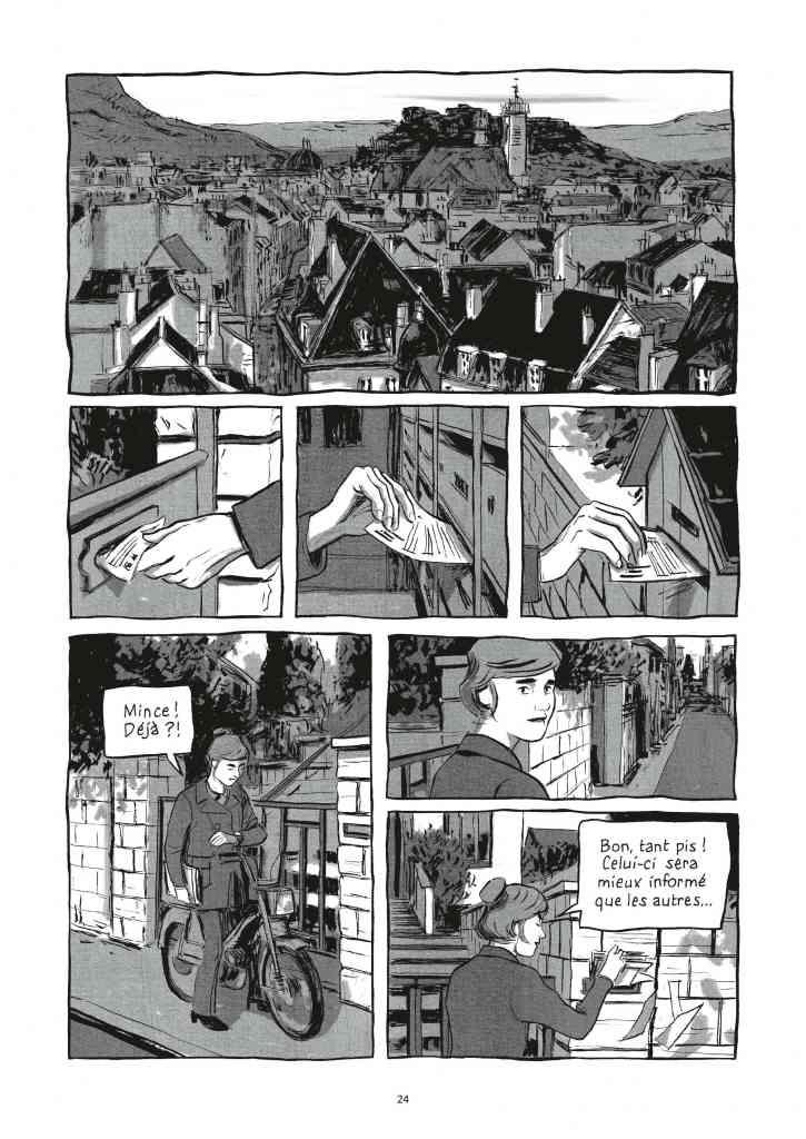 LIP des héros ordinaires (Page 24) de Galandon & Vidal - Dargaud (2014)