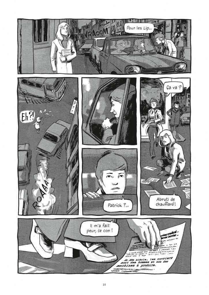 LIP des héros ordinaires (Page 31) de Galandon & Vidal - Dargaud (2014)