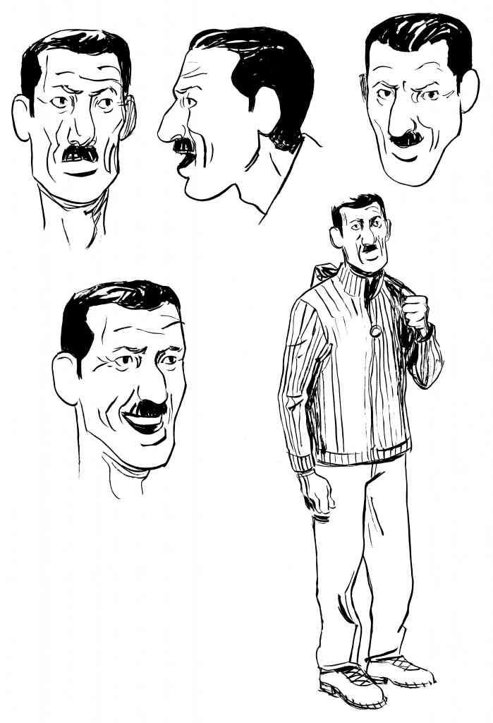 LIP des héros ordinaires de Galandon & Vidal - Dargaud (2014) - Recherche de personnage Amjad