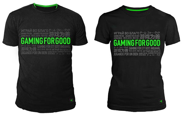 Gaming For Good T-shirts