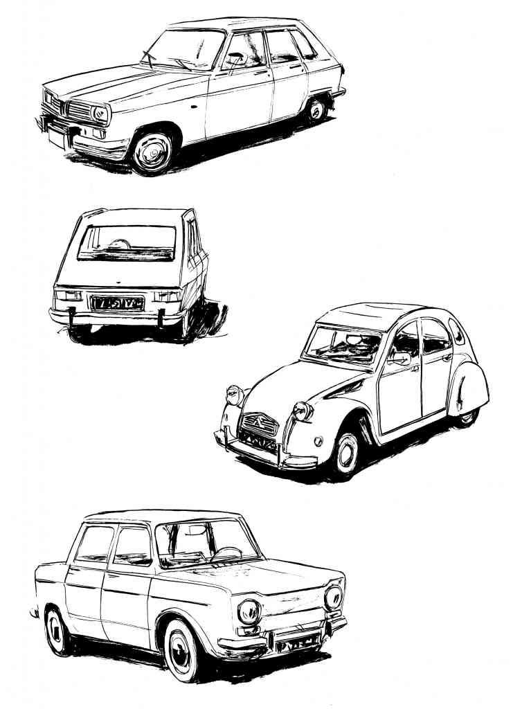LIP des héros ordinaires de Galandon & Vidal - Dargaud (2014) - Recherches véhicules