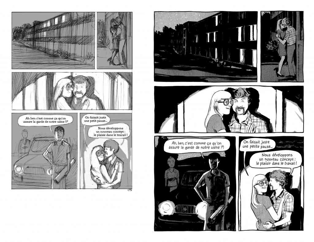 LIP des héros ordinaires de Galandon & Vidal - Dargaud (2014) -storyboard-et-planche 75
