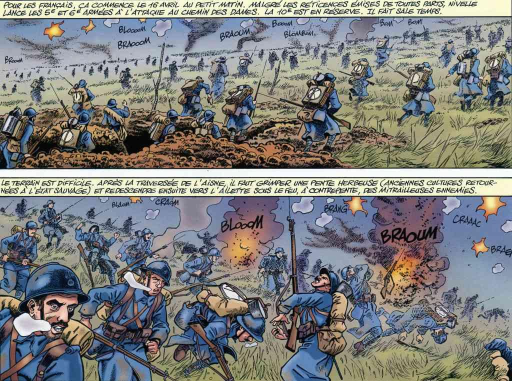 La Grande Guerre T2 - Chemin des Dames