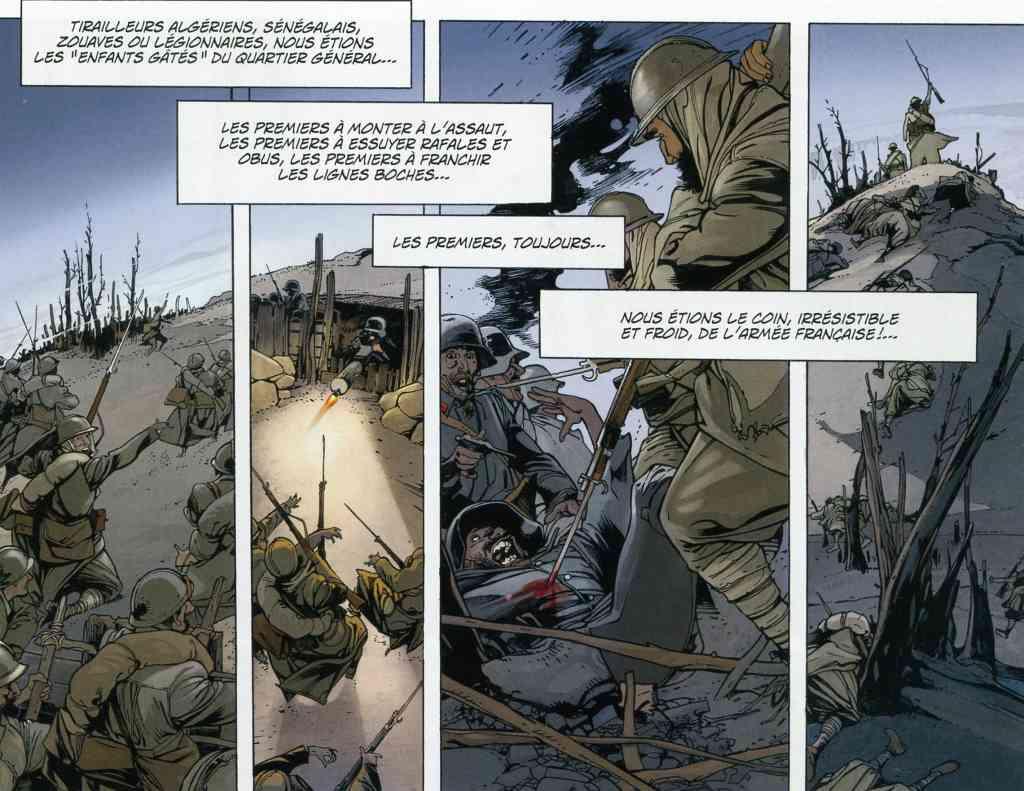 Les quatre coins du monde - Soldats coloniaux