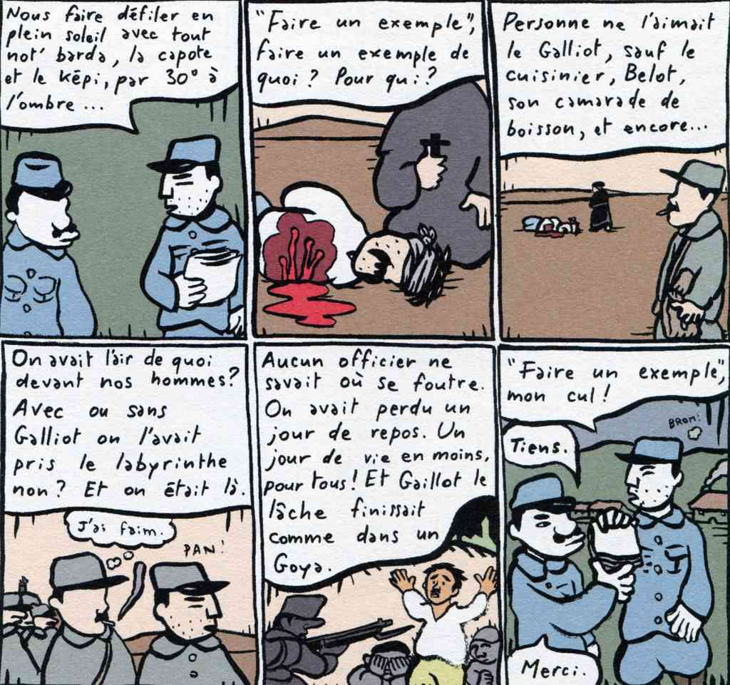 Mathurin Soldat - Fusillé