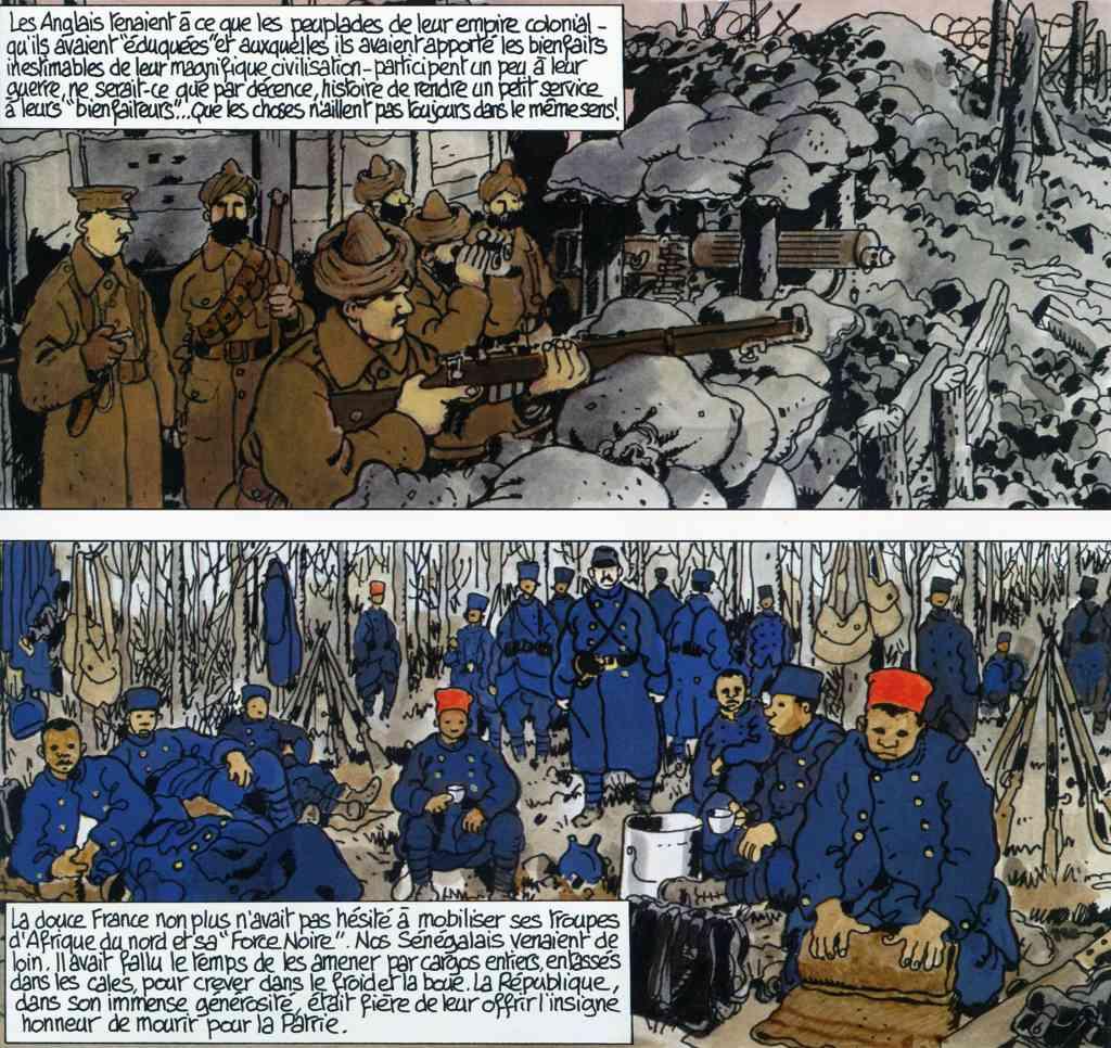 Putain de guerre ! - Soldats coloniaux