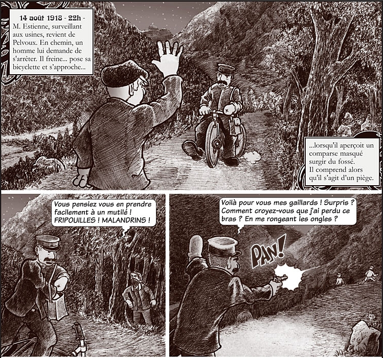 Les Croquignard, Bandits fantômes dans les Alpes