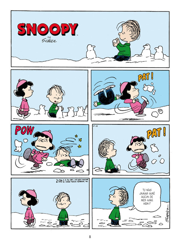 Snoopy-planches