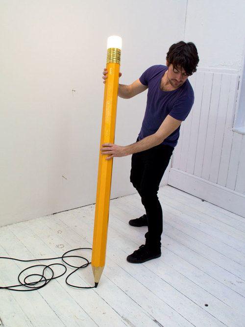 lampe crayon 1