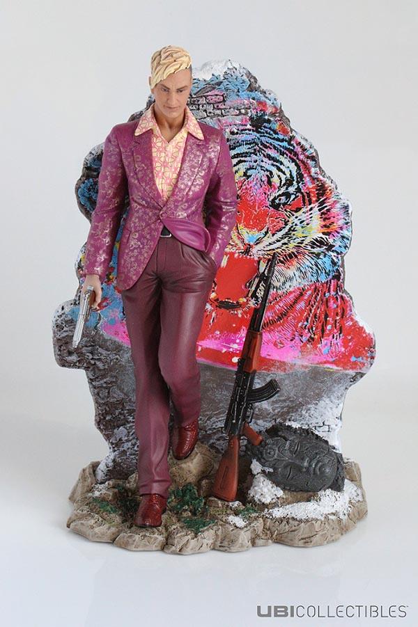 Far Cry 4 et la figurine collector UBIcollectibles 'Pagan Min: King of Kyrat'