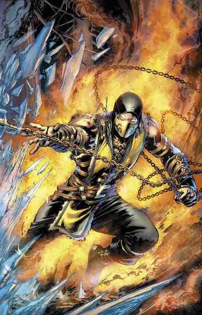 Couverture Comic Scorpion_low