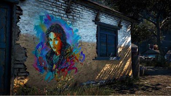 Far Cry 4 met le street art à l'honneur avec l'artiste C215