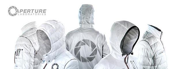 musterbrand lance les vestes inspirées du jeu Portal signé Valve