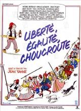 Liberté Égalité Choucroute Affiche