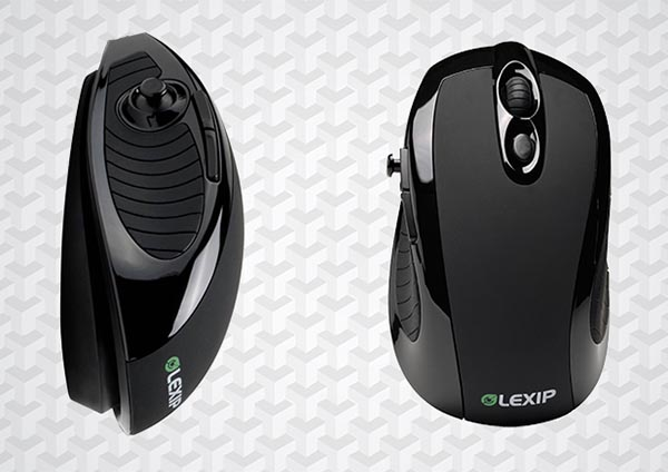 La souris Lexip 3DM Pro d'E-concept ajoute une 3ème dimension