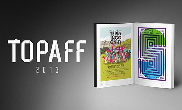 Le TOPAFF 2013 de jogging-vert met les arts graphiques à l'honneur