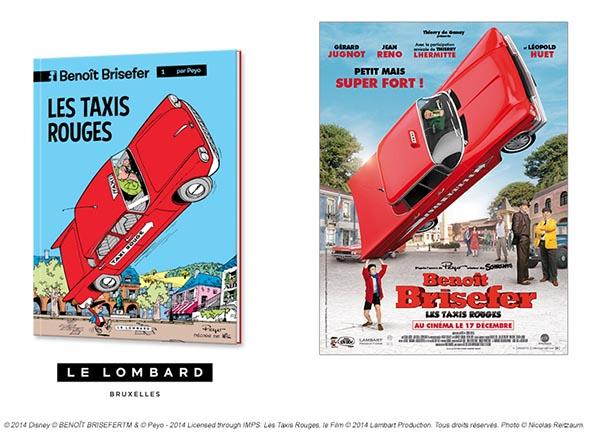 Concours Benoit Brisefer : Les Taxis Rouges, gagner des places et des BD !